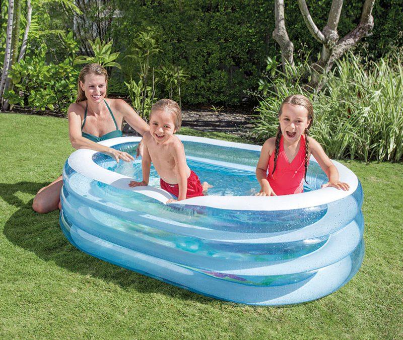 Na upały tylko baseny ogrodowe!